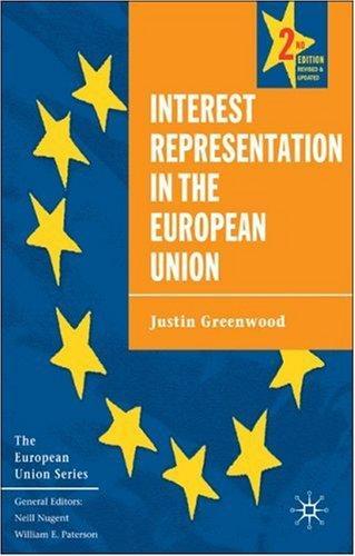 Interest Representation in the European Union