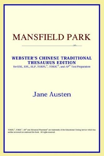 Mansfield Park (Webster's Chinese-Simplified Thesaurus Edition)