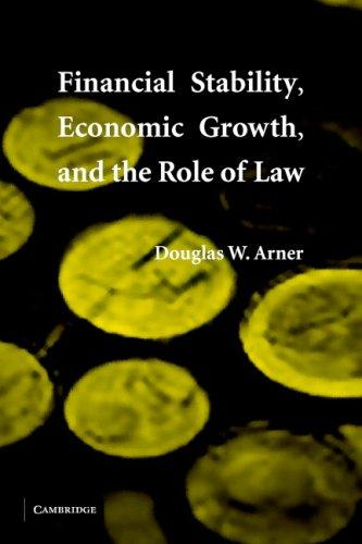 Financial Stability, Economic Growth, and the Role of Law by Douglas W. Arner