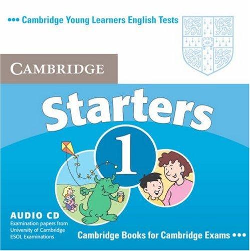 Cambridge Young Learners English Tests Starters 1 by Cambridge ESOL