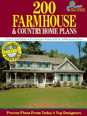 200 Farmhouse and Country Home Plans by Home Planners Inc