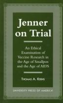 Jenner on trial by Thomas A. Kerns