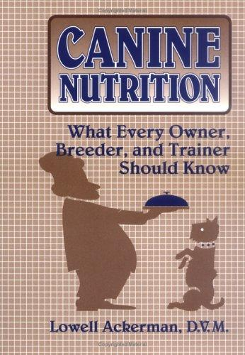Canine nutrition by Lowell J. Ackerman