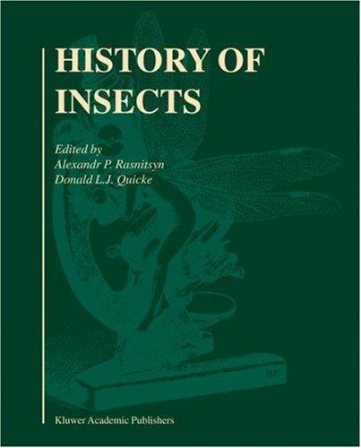 History of Insects by