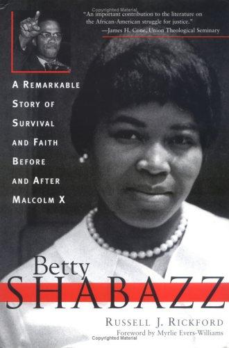 Betty Shabazz by Russell J. Rickford