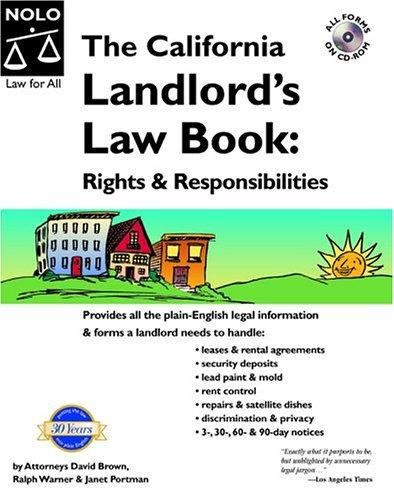 The California landlord's law book.