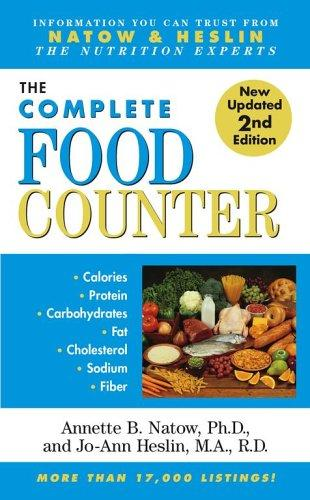 The Complete Food Counter by Annette B. Natow, Jo-Ann Heslin
