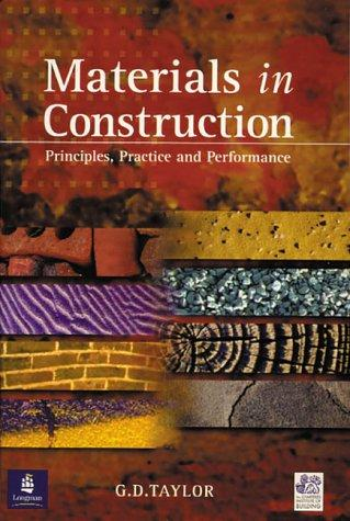 Materials in Construction (Chartered Institute of Building) by G.D. Taylor