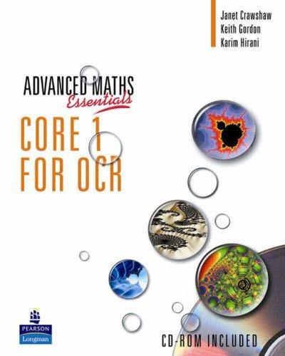 Core 1 for OCR by J Crawshaw