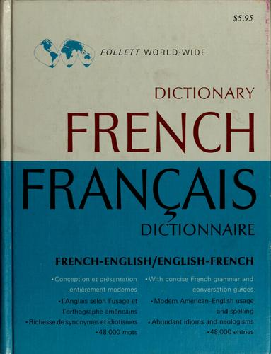 Follett world-wide French dictionary by Richard Switzer