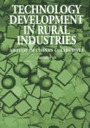 Technology Development in Rural Industries by Hannah Piek
