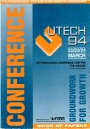 UTECH 94 by UTECH 94 (Conference) (1994 The Hague)