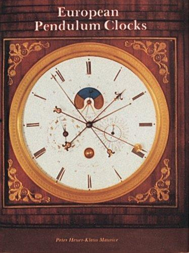 European pendulum clocks by Peter Heuer