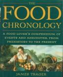 The food chronology by James Trager
