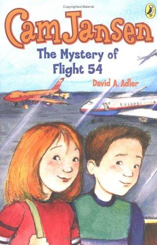 Cam Jansen #12 Mystery of Flight 54 (Cam Jansen) by David A. Adler