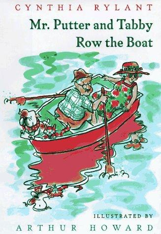 Mr. Putter & Tabby Row the Boat (Mr. Putter & Tabby) by Jean Little