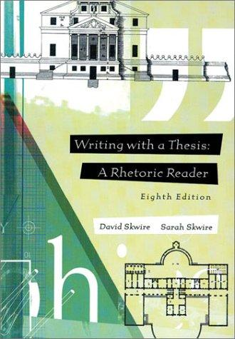 Writing with a thesis