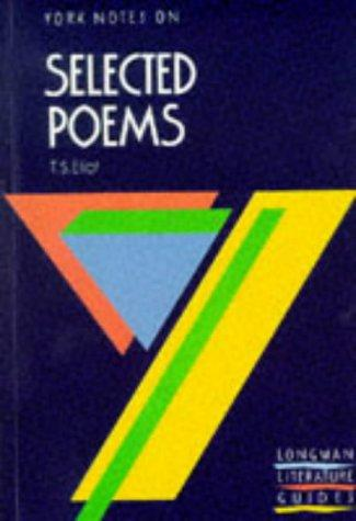"York Notes on T.S.Eliot's ""Selected Poems"" by M. Herbert"