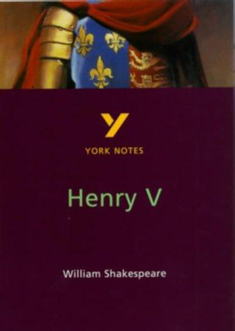 "York Notes on Shakespeare's ""Henry V"" by David Langston"
